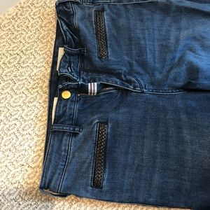 Anthropologie Pilcro &Letterpress flare leg jeans